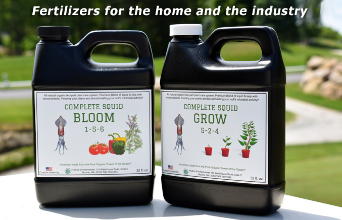 Fertilizers for the home and the industry, Hydros Environmental Diagnostics, Bourne, MA